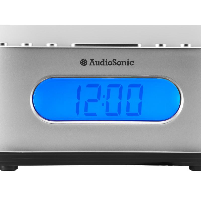 e2eac90a6e1 AUDIOSONIC - Rádio Relógio Candeeiro CL-505